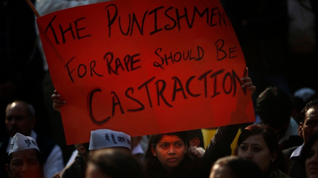 New Delhi police protection gang rape of student
