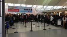 Pearson airport busiest travel day winter storm