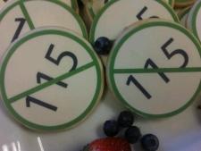 EFTO Bill 115 Christmas cookies