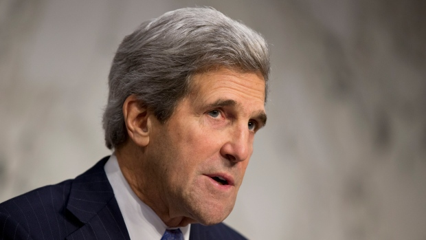 Kerry looks to first visit abroad as secretary of state