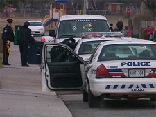 Police located a U-Haul van linked to the suspect in a Thursday, Dec. 2, 2010 crossbow homicide in Scarborough.