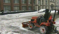 Snow, snow plow, storm, weather, toronto