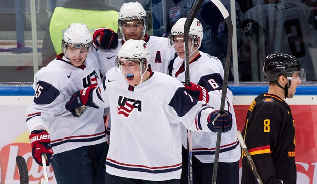 USA, Germany, World Junior Hockey Championship