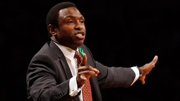 Brooklyn Nets head coach Avery Johnson