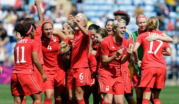 Canada, soccer, bronze, women, team of the year