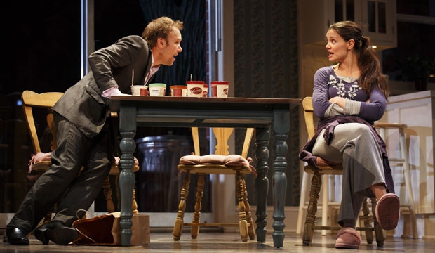 dead accounts, katie holmes, close, broadway