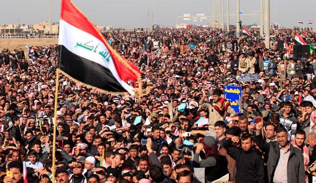 Iraq, rally, sunni, protest