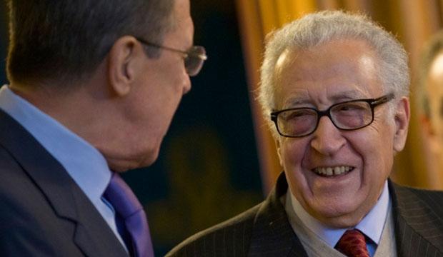 Syria, Lakhdar Brahimi, un envoy