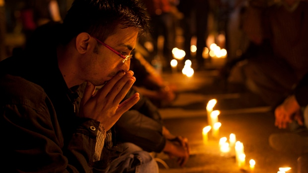 Vigil for Indian gang rape victim
