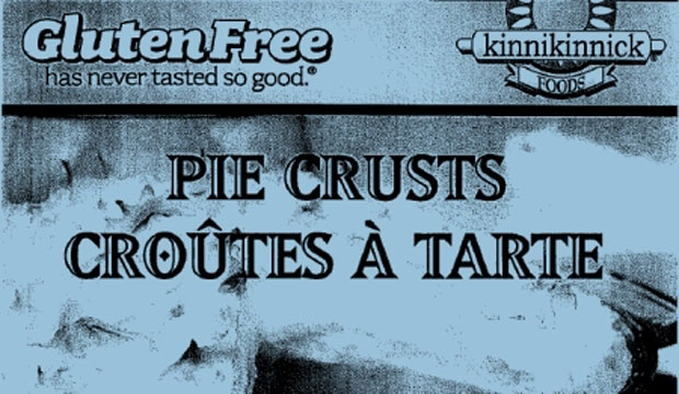 Kinnikinnick, pie crusts, recall, label