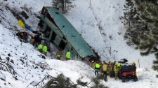 Oregon Vancouver-bound bus crash