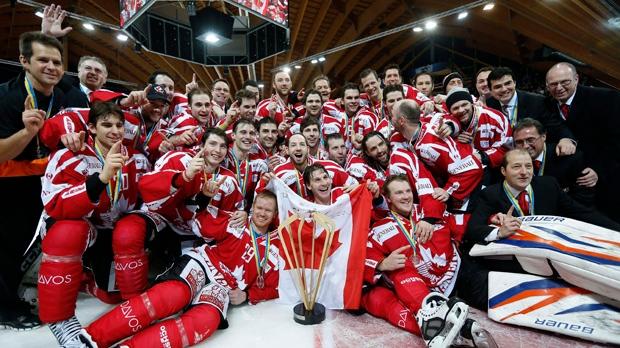 Spengler Cup final Canada HC Davos