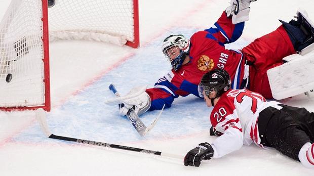 Canada Russia world junior hockey championship
