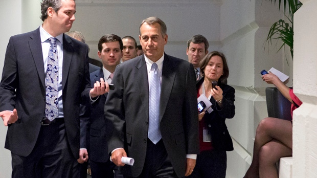 John Boehner U.S. Washington fiscal cliff talks