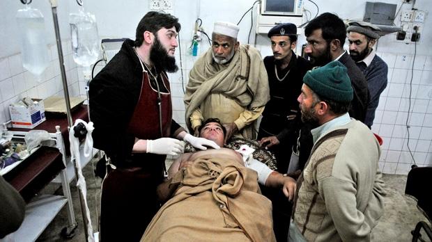Pakistan shooting gunmen kill teachers aid workers