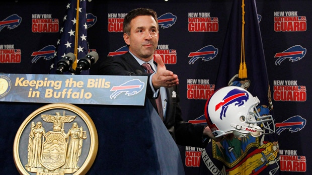 Buffalo Bills Russ Brandon president NFL football
