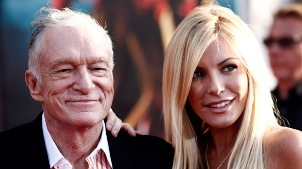 Hugh Hefner Crystal Harris wedding Playboy Mansion