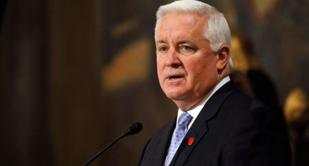 Tom Corbett, penn state, sanctions, lawsuit, ncaa