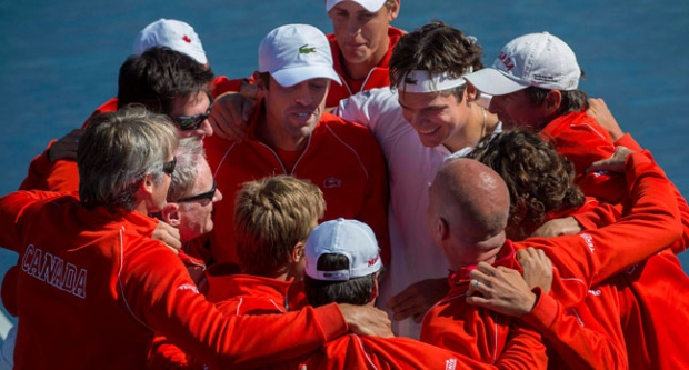 Davis Cup, Canada, Roster, Tennis