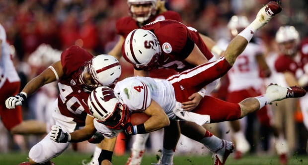 Rose Bowl, Stanford, Wisconsin, BCS, NCAA