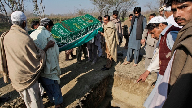 Pakistan teachers aid workers shot killed