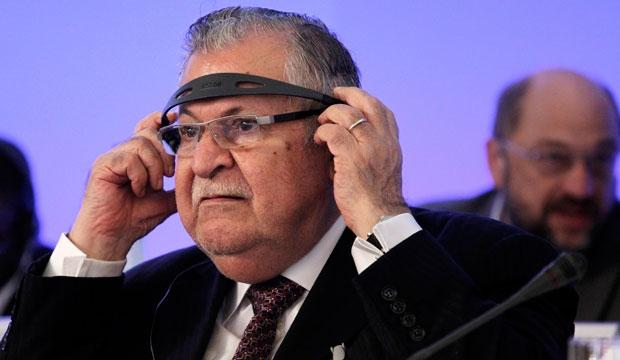 Jalal Talabani, Iraq, President, Stroke