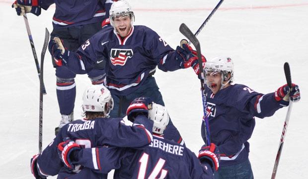 World Junior Hockey Championship, USA, Sweden