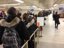 Via Rail trains delayed Idle No More
