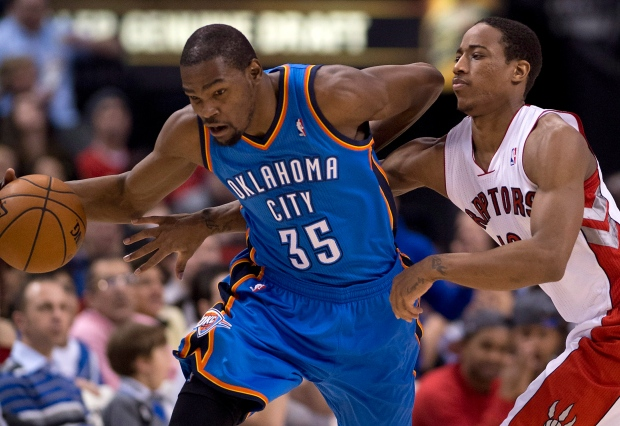 Oklahoma City Thunder beat Toronto Raptors