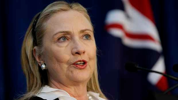 Hillary Clinton return to work blood clot