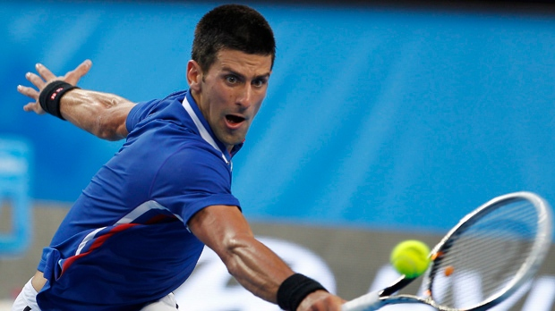 Novak Djokovic top seed Australian Open