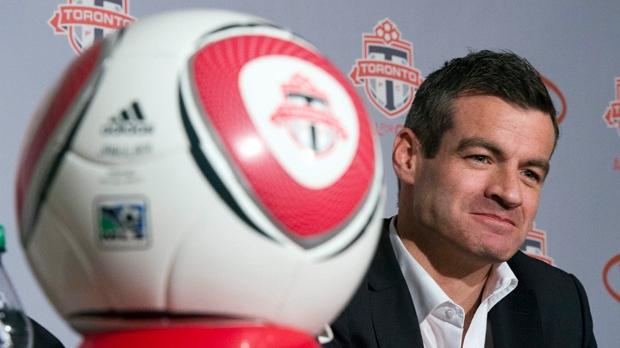 Toronto FC coach Ryan Nelsen MLS soccer