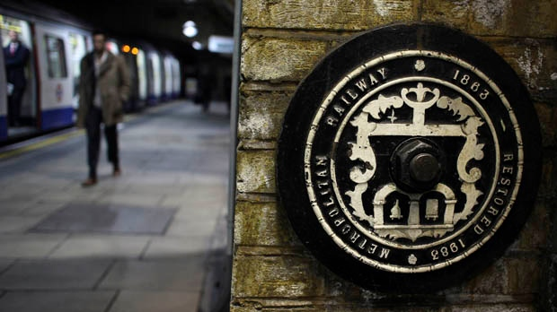 London tube subway 150 years in operation