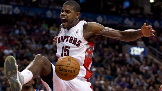 Toronto Raptors forward Amir Johnson