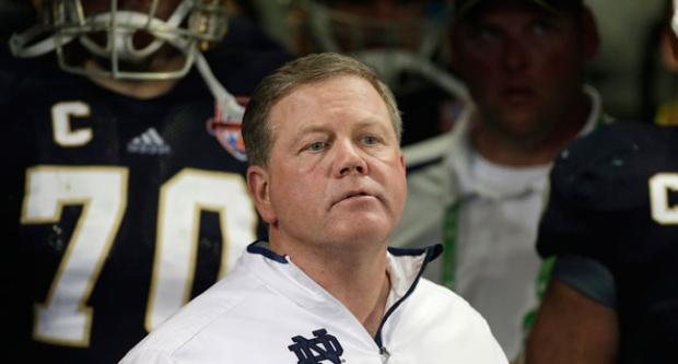 Brian Kelly, Notre Dame, Coach, Eagles