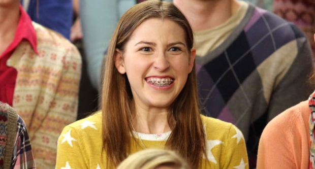 Braces, eden sher, the middle