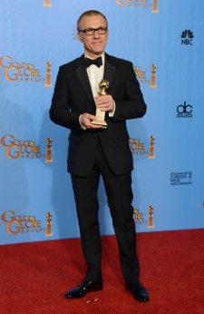 Christoph Waltz wins Golden Globe award