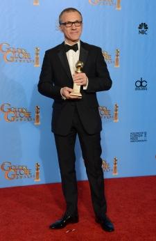 Christoph Waltz wins Golden Globe award