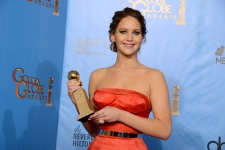 Jennifer Lawrence at Golden Globe Awards