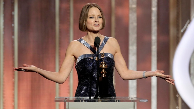 Jodie Foster Golden Globe Awards