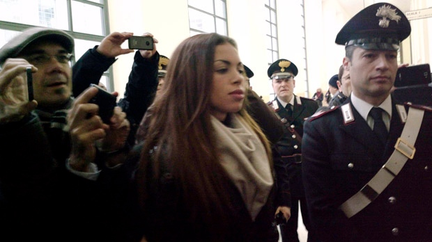 Karima el-Mahroug Silvio Berlusconi trial Italy