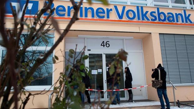 Berlin Germany 100 foot tunnel robbery bank