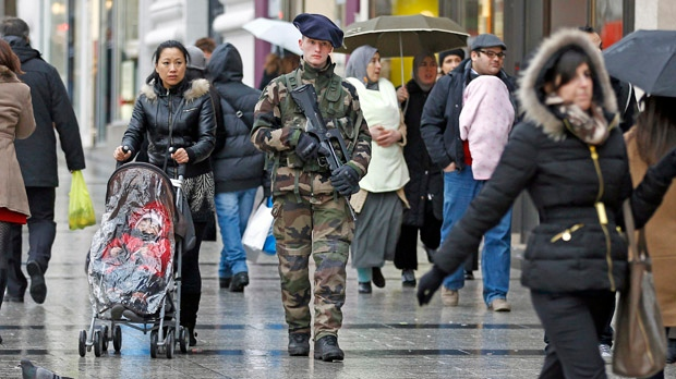 Paris France security terror threat Mali fighting