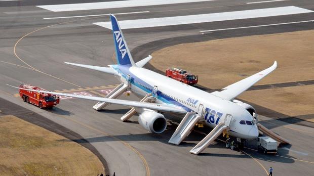 Japan airlines ground Boeing Dreamliner safety
