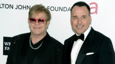 Elton John David Furnish second child son