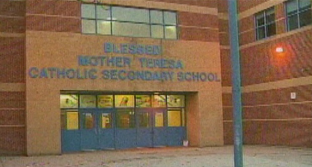 Blessed Mother Teresa Secondary School, gun