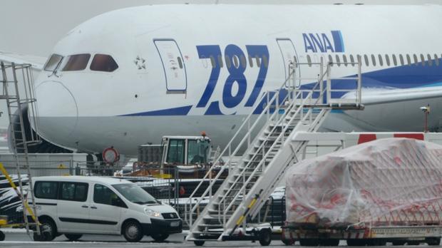 Boeing 787 Dreamliner grounded fire risk