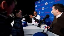 Toronto Blue Jay shortstop Jose Reyes