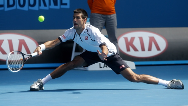 Novak Djokovic Australian Open win Radek Stepanek