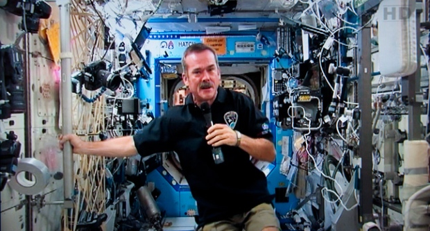 Questions, chris hadfield, space